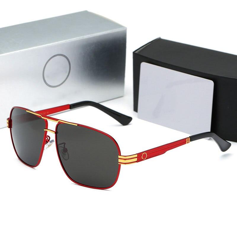 Polarized Sunglasses Men Fashion Brand Designer Mercede 763 Square Sunglasses Men Sports Driving Fishing Glasses Oculos De Sol
