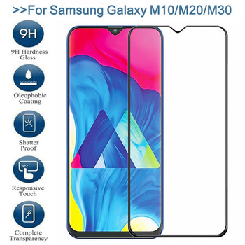 9D Protective Glass For Samsung Galaxy A10 A30 A50 A70 A10S A20E A20S A30S A40S Screen Protector A50S A70S M10S M30S Glass Film image