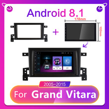 CARTAOTAO Für Suzuki GRAND Vitara 3 Auto Radio Multimedia Video Player Navigation GPS Android 9,0 auto radio 2 din 7'' 2005-2015