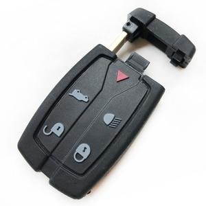 Новый 5 кнопок дистанционного ключа оболочки для Land Rover Freelander 2 3 Замена Smart Key Blade Fob пустой чехол|Ключ от авто|   | АлиЭкспресс