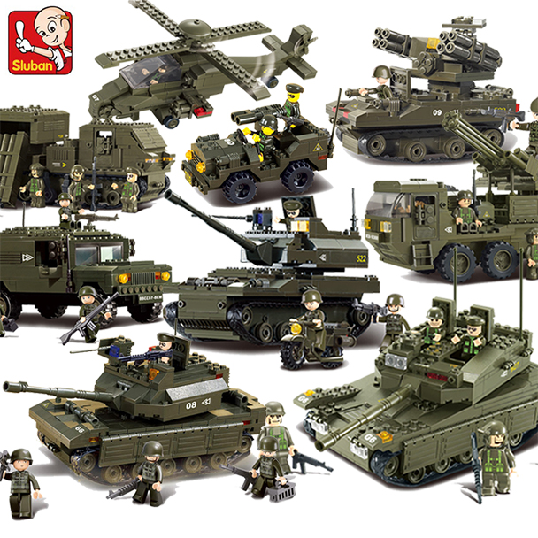 Compatible Legoed Military Headquarters A Transport Ww2 Tank Armored Vehicle Building Blocks Boys Child Toys World War 1 2 Sets