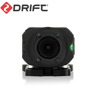 Drift Ghost 4K+ Plus Action Sports Camera Motorcycle Bicycle Bike Mount Helmet Cam with WiFi 4K HD Resolution External Mic