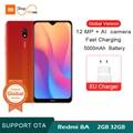 Version mondiale Xiaomi Redmi 8A 2GB 32GB 5000mAh 6.22 goutte d'eau HD téléphone portable 12MP caméra Snapdargon 439 Octa Core Smartphone