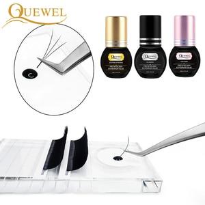 Image 5 - Quewel Eyelashes Extension Glue Set 5ml Lash Glue And 5g Gel Remover Pen 1 2 S Quick Drying Removing Individual Eyelash Tool