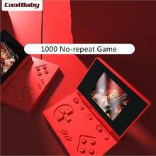 Новая портативная игровая консоль coolbaby в стиле ретро 3 дюйма