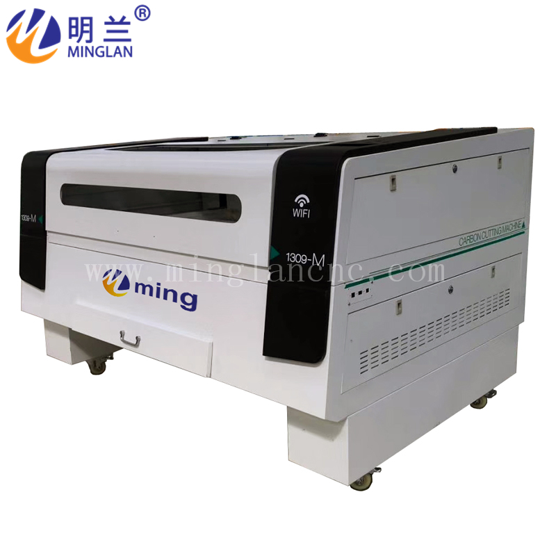 1390 Carbon Dioxide CO2 Laser Cutting Machine For Acrylic Wood Rubber Cloth Glass
