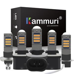 KAMMURI (2) Super Bright White H1 H3 H27W H27 LED h27w2 h27w/2 881 880 h27w/1 h27w1 Car LED Bulbs For Car Driving Fog Lamp Light(China)
