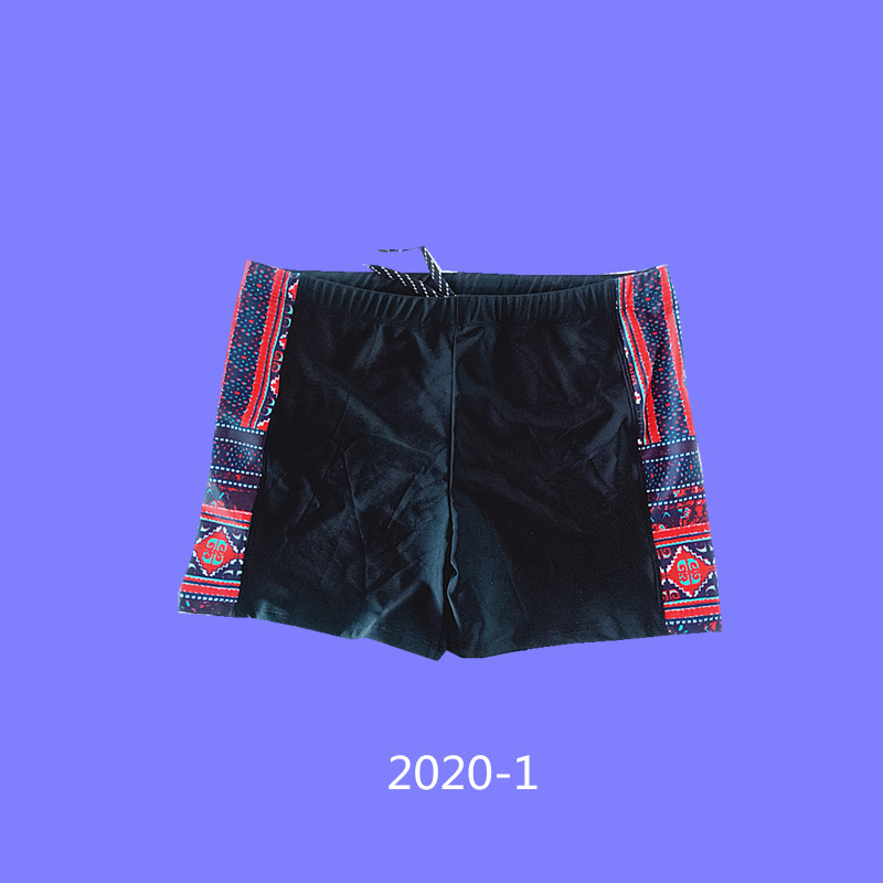 2020 Hot Selling Swimming Trunks Men Conservative Fitness Swimming Trunks Quick-Dry Sports Shorts Large Size Adult Swimming Trun