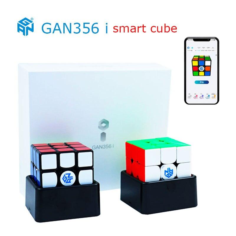 Original GAN356 i magnétique magique vitesse Cube Station App GAN 356i aimants compétition en ligne Cubo Magico 3x3 GAN 356 i GAN356i