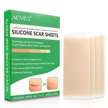 Remendo do silicone da terapia da cicatriz do gel da acne da remoção das folhas da cicatriz do silicone reusável remove o reparo da pele da folha da queimadura do trauma