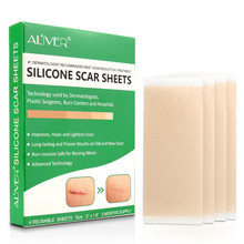 Reusable Silicone Scar Sheets Removal Patch Acne Gel Scar Therapy Silicon Patch Remove Trauma Burn Sheet Skin Repair