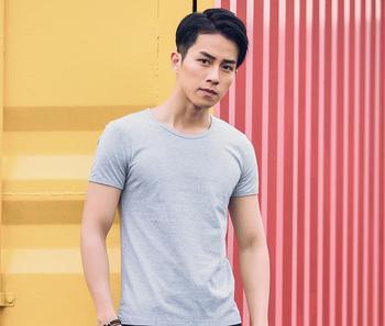 2020 New style Summer men casual soft Cotton T-shirt green gray An