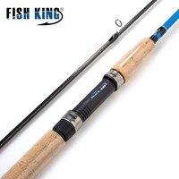 FISH KING 99% Carbon 2.1M 2.4M 2.7M C.W 3 40G 2 Section Soft Lure Fishing Rod Lure Spinning Fishing Rod For Lure Fishing