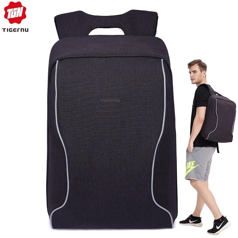 Tigernu Men's Anti Theft Backpacks For Teenage Girls Male Backpacks Business Laptop Backpack School Youth Mochila Feminina