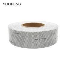 VOOFENG-cinta reflectante marina de grado solar autoadhesiva, productos para el ahorro de vida, seguridad de tráfico, 5cm x 45,7 m