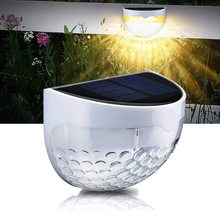 1/2/4pcs IP65 Solar Powered Wireless Light Weatherproof Lamp with 6 LEDs Light Sensor on at Dusk Auto off at Dawn for Outdoor promise at dawn
