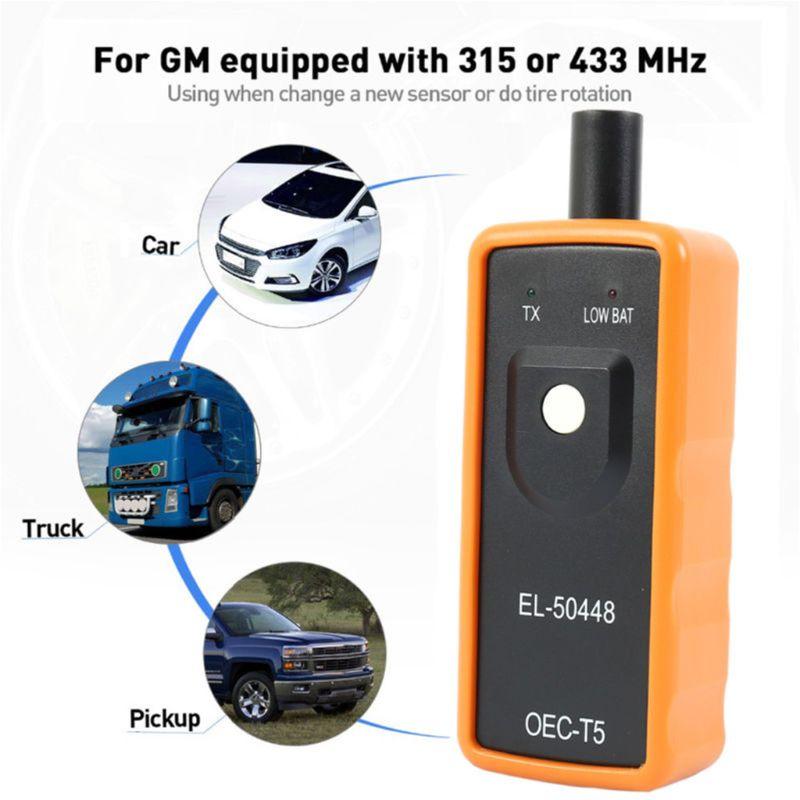 433 MHz TPMS EL-50448 Automotive Tire Pressure Reset Car Monitor Sensor 315