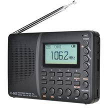 JINSERTA Radio Receiver FM/AM/SW Full Band Portable Pocket Radio With Bluetooth MP3 Music Play Support TF Card U Disk Recording