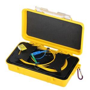 Free shipping SC/UPC-LC/APC OTDR Zone Eliminator,Fiber Rings ,Fiber Optic OTDR Launch Cable Box 500M 1Km 2Km SM 1310/1550nm