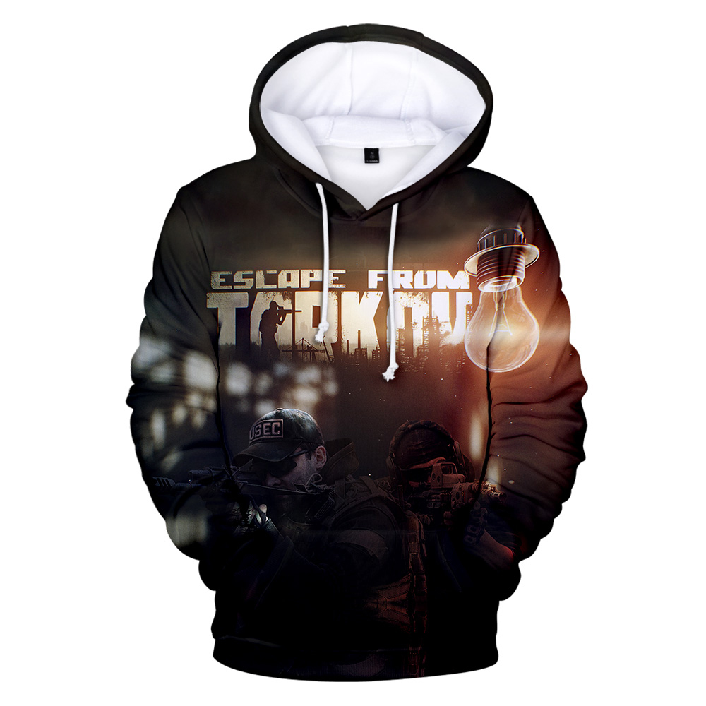 Casual Cool Escape From Tarkov 3D Hoodies Men/Women Autumn Winter Fashion Casual Men's Hoodie Harajuku Style Sweatshirts