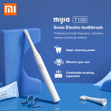 Xiaomi Mijia T100 sonic แปรงสีฟันไฟฟ้าสำหรับผู้ใหญ่แปรงสีฟันกันน้ำ Ultra sonic แปรงสีฟันอัตโนมัติ USB ชาร์จ IPX7
