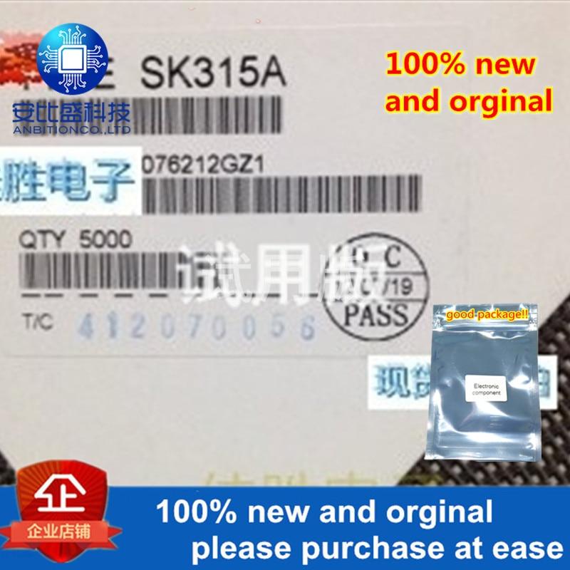 30pcs 100% New And Orginal SK315A Original Village 3A150V Schottky DO214AC   In Stock