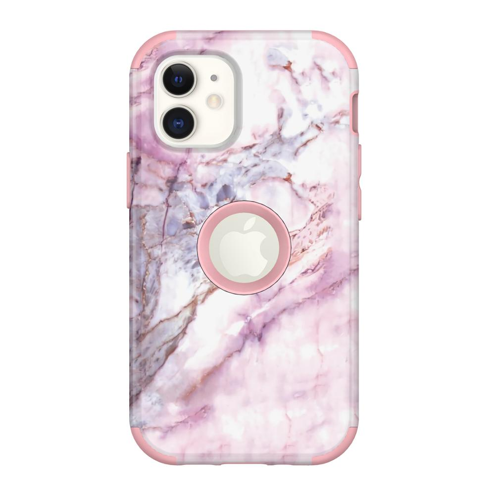 3 In 1 Marble Phone Case For Iphone 11 12 Pro Max Case Shockproof Protection For Iphone X XR XS MAX 6 7 8 Plus Case Cover Capa