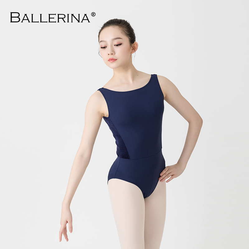 Women Ballet dance leotard Adulto open back Dance Costumeyoga gymnastics Sleeveless black Leotards Ballerina 2505