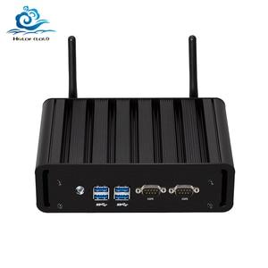 Image 1 - Mini Computer Dual LAN Mini PC 2 * COM Core i7 5500U i3 5005U i5 5200U Finestre 10 2 * porte seriali WIFI minipc