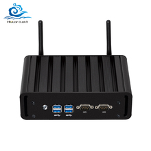Mini Computer Dual LAN Mini PC 2 * COM Core i7 5500U i3 5005U i5 5200U Windows 10 2 * serielle ports WIFI minipc