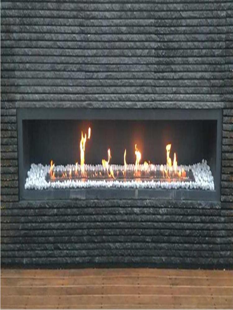 48 Inch Silver Or Black Wifi Intelligent Smart Eco Fuel Smart Alexa Ethanol Fireplace