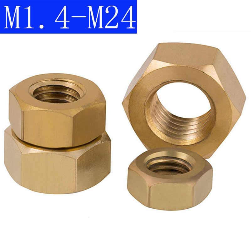 M2 M3 M4 M5 M6 M8 M10 M12 M14 M16 M20 M24 M30 Hex Nuts Black Oxide High Tensile Steel 1Pcs, M24