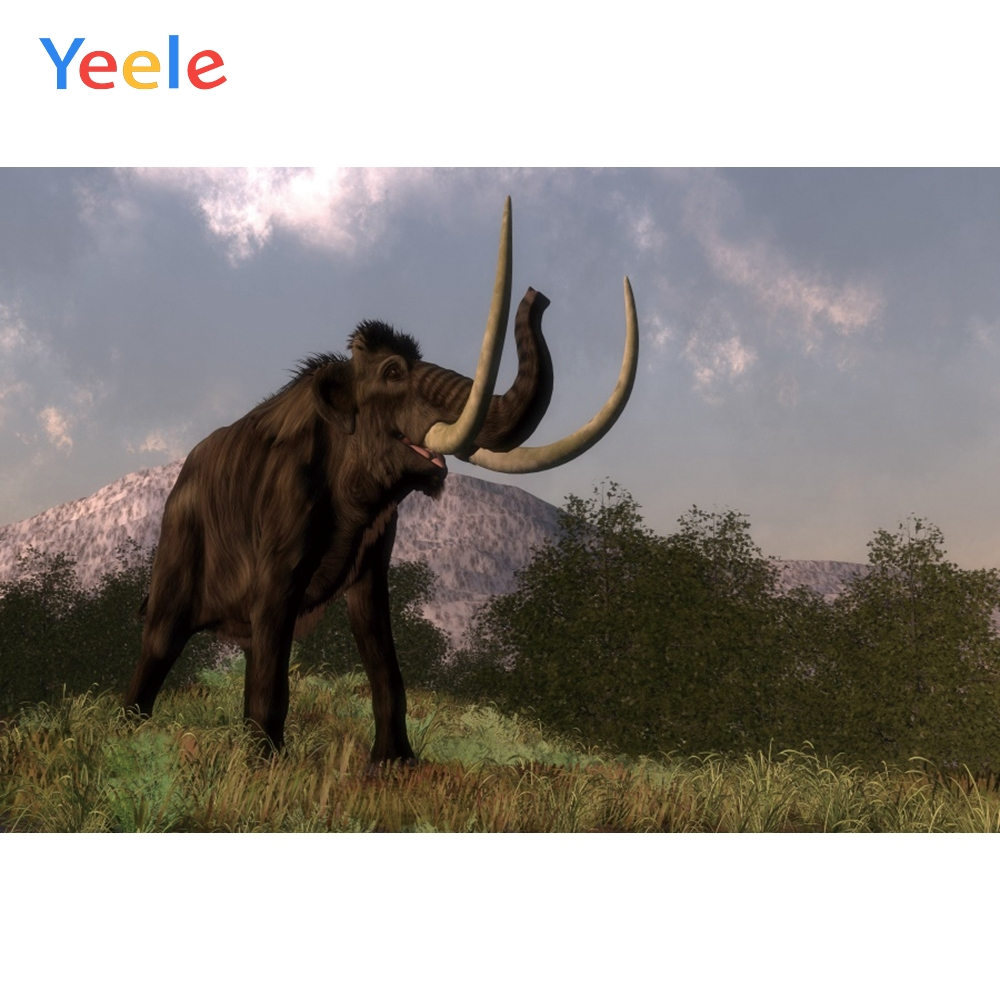 Yeele Painting Photocall Mammoth Lawn Big Mount Photography Backdrops Personalized Photographic Backgrounds For Photo Studio|Background| |  - title=