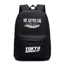 Tokyo Ghoul Backpacks Teenager School back pack Bags Luminous Backpack Cartoon  Galaxy mochila unicornio Travel bags fvip wow for the horde world of warcraft backpack school bags luminous backpacks tribe alliance nylon mochila galaxia