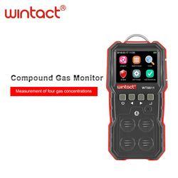 WT8811 związek 4 w 1 miernik gazu dla gazu palnego tlenu siarkowodór tlenek węgla