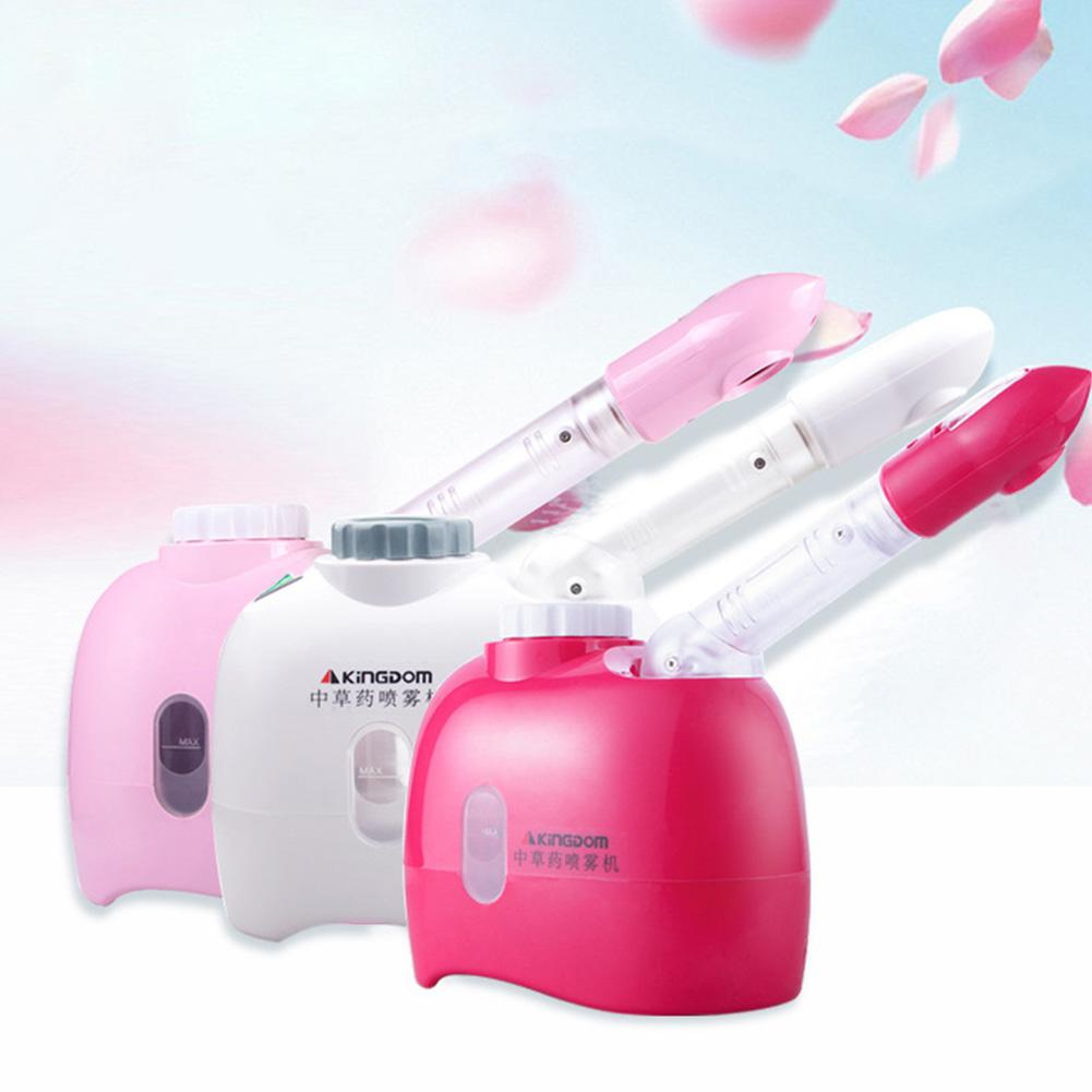 Thermal Mist Sprayer Facial Steamer Ozone Humidifier Moisturizing Skin Pores Cleansing image