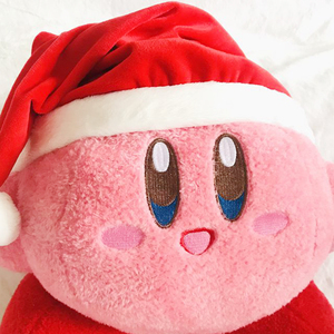 Image 5 - Tronzo 50cm Kirby Plush Soft Sleep Pillow Cap Kawaii Anime Game Kirby Sleep Pillow Cushion Soft Pet House Doll Toys Dropship