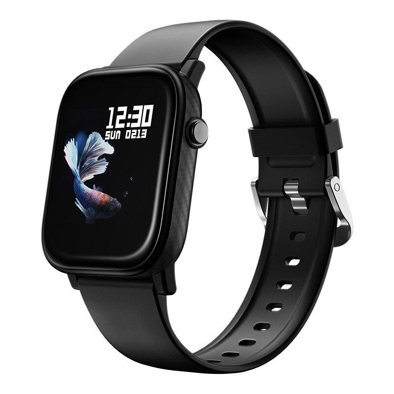 Relógio inteligente 1.4 full tela sensível ao toque completo controle da câmera de fitness rastreador ip67 à prova dip67 água relógios digitais para huawei xiaomi redmi oppo