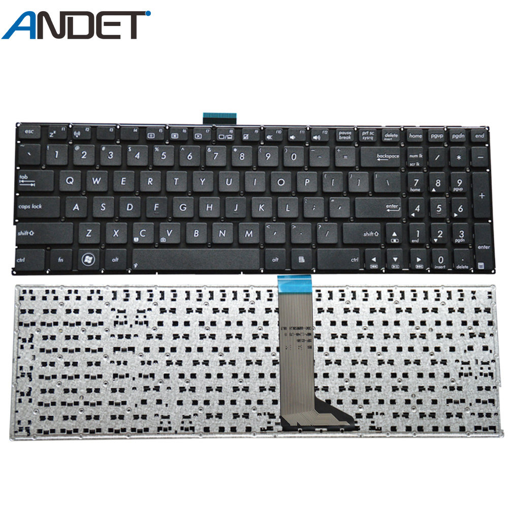 FOR ASUS K555L K555LA K555LB K555LD K555LJ K555LN K555LP Keyboard UK No Frame