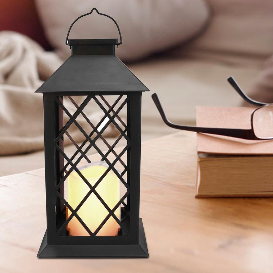 Candle Light Led Hanging Lamp Lantern