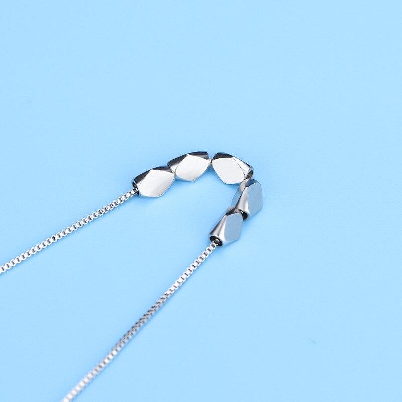 Chyvenee новые корейские роскошные ожерелья серебряного цвета