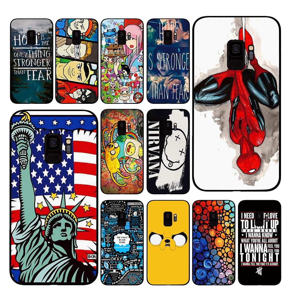 <font><b>sex</b></font> <font><b>girl</b></font> for Samsung Galaxy A6 A8 Plus A7 A9 2018 A5 2017 <font><b>18</b></font> J530 J7 J8 Phone cases image
