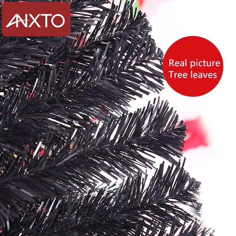 180 centimetri albero Di Natale nero blu artificiale albero Di Natale decorazioni di natale decorazioni natalizie per la casa di trasporto libero - 6