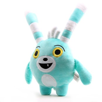 30cm/50cm Cartoon Abby Hatcher Bunny Bozzly Plush Toy Cuddly Lovely Rabbit Blue Stuffed Doll Animal Pillow Toys fancytrader large plush bunny doll lovely soft stuffed cartoon rabbit kids toys gifts pink purple for chilren 100cm