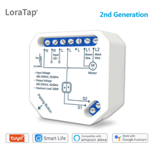 Tuya Smart Leven Wifi Gordijn Switch Module Voor Rolluik Blind Motor Smart Home Google Home Amazon Alexa Voice Control v2