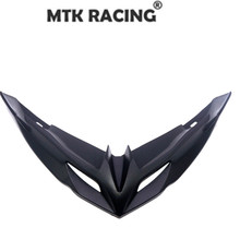 Motorcycle ABS front fairing aerodynamic wingtip protective cover lower for KAWASAKI VERSYS 650 versys 2015-2019