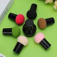 купить Makeup Cosmetic Puff Powder Smooth Beauty Make Up Foundation Sponge Clean Makeup Tool Dry And Wet Dual Purpose Puff Accessory дешево