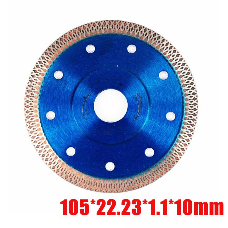 Ultra Thin Diamond Blue Cutting Discs Circular Cutters For Angle Grinder Tile
