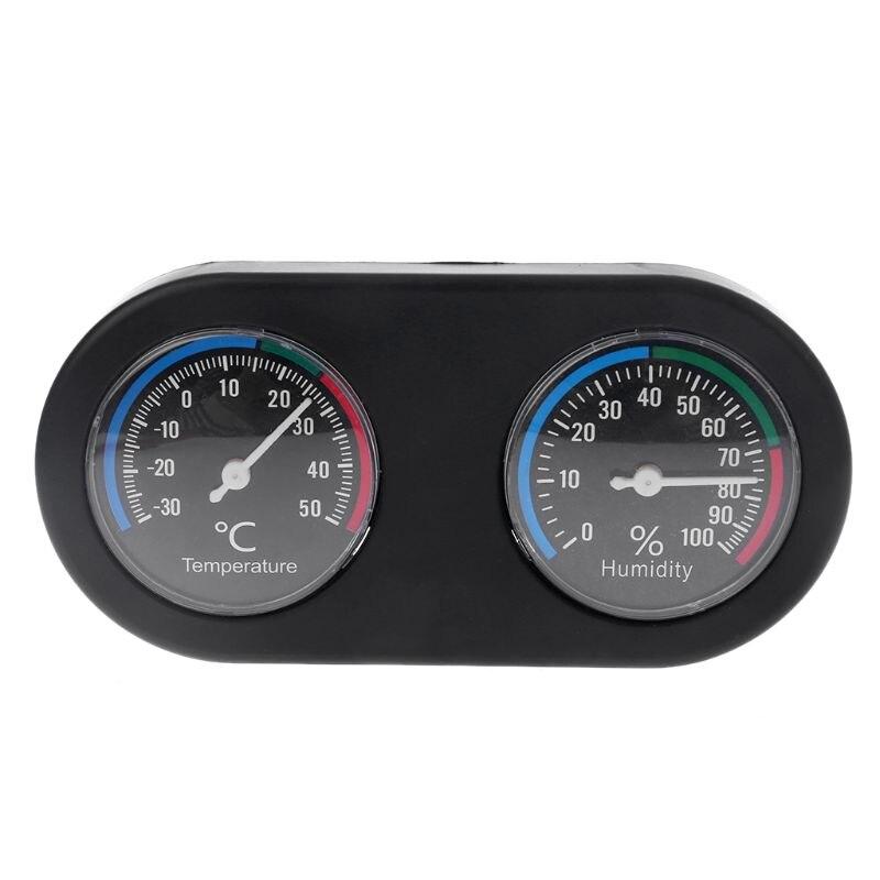 Reptile Tank Thermometer Hygrometer Monitor Vivarium Terrarium Temperature Humidity Meter