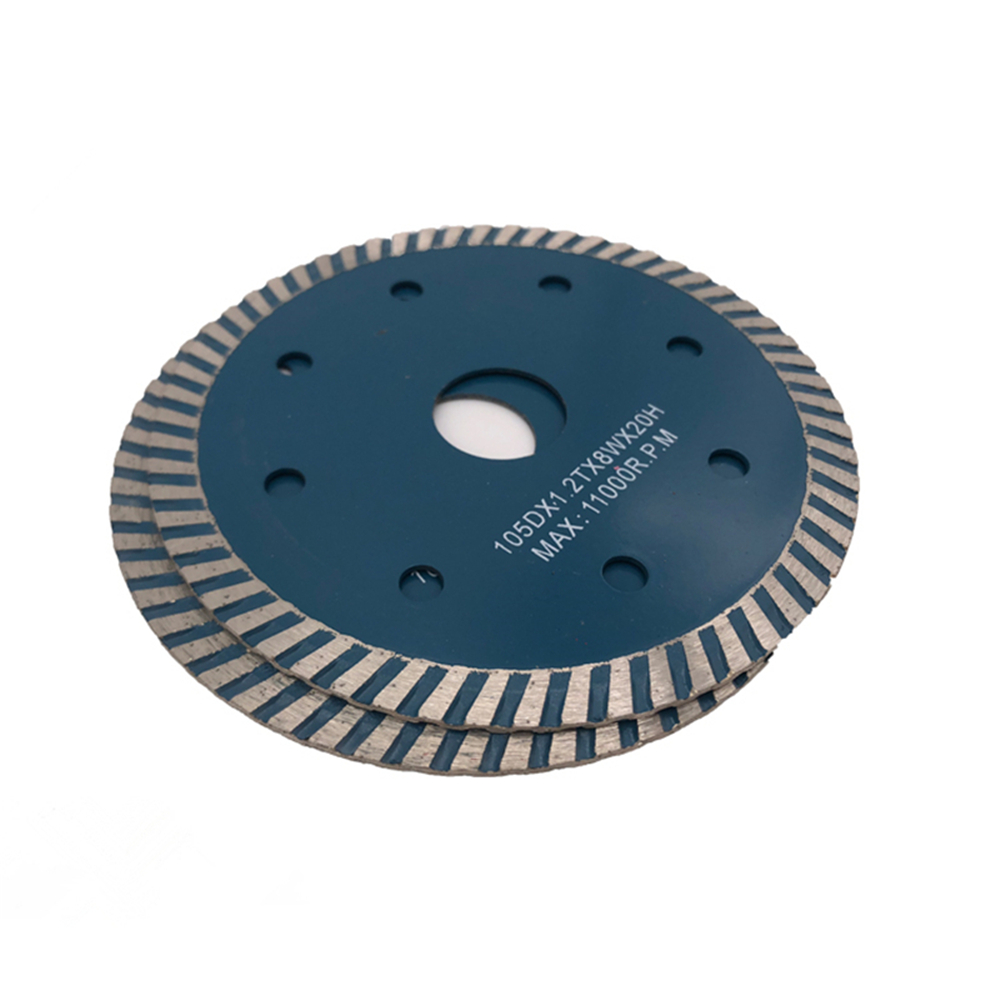 DB26 Sintered Diamond Cutting Disc 4 Inch D105mm Turbo Continuous Rim Diamond Saw Blades Hot Press Cuuter For Hard Stone 10PCS